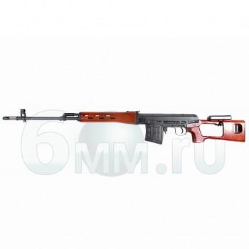 Страйкбольная винтовка (King Arms) SV-Dragunov AEG (SEMI/AUTO)