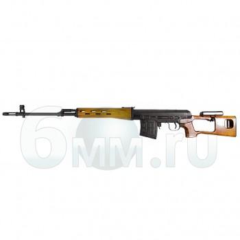 Страйкбольная винтовка (King Arms) SV-Dragunov spring Wood (KA-AG-91-WO)