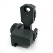 Мушка Целик (King Arms) Flip-up Rear Sight Ver.2 (складная) KA-RS-04-v2
