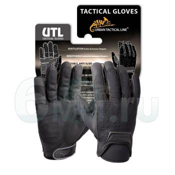 Перчатки (Hlikon-Tex) URBAN TACTICAL LINE Gloves/Black (XL)