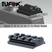 Планка на пистолет Glock RIS