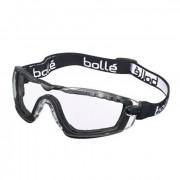 Очки защитные (Bolle) Cobra прозрачные на резинке (DC-COBFSPSI)