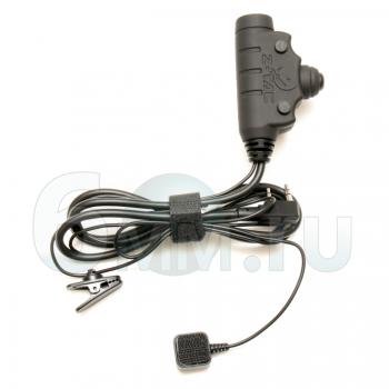 Кнопка PTT (Z-TAC) U94 для рации (Kenwood-BaoFeng) Z115