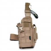 Кобура на ногу Pantac MP7 Dropleg Holster Coyote Brown (HS-C331-CB-A)