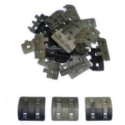 Накладки на RIS Magpul XTM 32 шт (пазлы) камуфляж