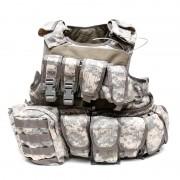 Разгрузочный жилет Pantac RAV Armor с подсумками ACU (VT-C270-AC-M)