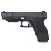 Страйкбольный пистолет (WE) GLOCK 26C Advance Semi/Auto Black (GGB-0368TMA)