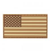 Патч флаг USA coyote (6х3.5см)