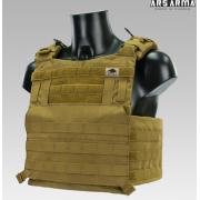 Бронежилет разгрузка Ars Arma A18 Сканда (Coyote) размер S/M