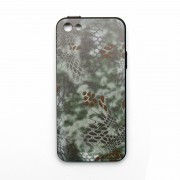 Чехол для IPhone 5/5S/SE (Kryptek-Green MANDRAKE) силикон