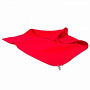 Красная лента 50см/50см с карабином