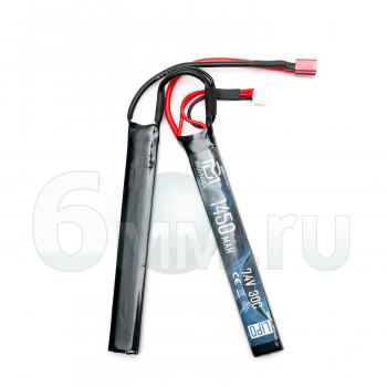 Аккумулятор BlueMAX 7.4V 1450mah 30C CQB 7.5*17 *115mm (Li-Po) Т-РАЗЪЕМ