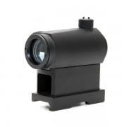 Прицел коллиматорный Micro T-1 Red Dot + высокая планка