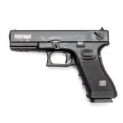 Страйкбольный пистолет (KJW) GLOCK 18 CO2 GBB металл (GC-0509)