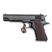Страйкбольный пистолет (Cyma) CM123S COLT M1911 AEP электр. LiPo