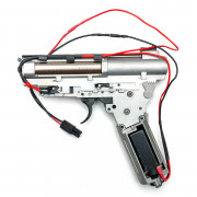 Гирбокс в сборе (LCT) AK ver.3 130-140м/с провода в приклад (с быстросъемн. пружиной)