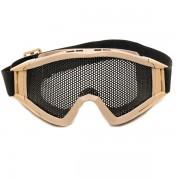 Очки защитные G James Goggle DESERT/TAN (сетка) маска