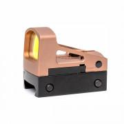 Прицел коллиматорный (AIM) RMS Reflex Mini Red Dot  TAN