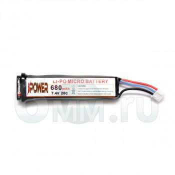 Аккумулятор IPower Micro LiPo 680mAh 7.4V AEP (пистолетный)