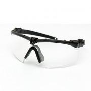 Очки защитные (ASS) прозрачные/Black Ver.2