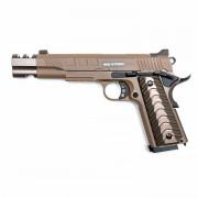 Страйкбольный пистолет (KJW) KP-16 Colt 1911 TAN (GGB-0516TT)