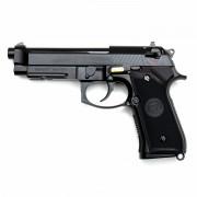 Страйкбольный пистолет (WE) M9A1 NEW Black (GGB-0378TM)