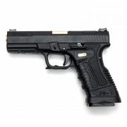 Страйкбольный пистолет (WE) GP1799-1 Black Metal/Black/Gold (GGB-0501TM-BG)