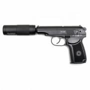 Страйкбольный пистолет (ISC) PM CO2 No Blowback (BLE-002-SB)