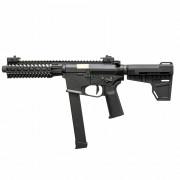 Страйкбольный автомат (ARES) M45S-L Long AEG -Black (AR-087E)