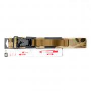 Ремень брючный (ДОЛГ) Флекс до 120 см (Multicam) XL