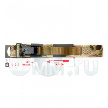 Ремень брючный (ДОЛГ) Флекс до 100 см (Multicam) M