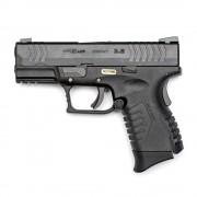 Страйкбольный пистолет (WE) XDM-40 Short 3.8 металл Black (GGB-0363TM)