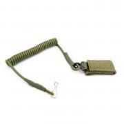 Тренчик для пистолета (ASS) с липучкой ремнем (Olive)