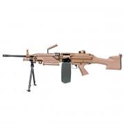 Страйкбольный пулемет (A&K) M249 MK II TAN