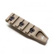 Планка на цевье URX4 70 мм (Keymod) TAN