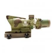 Прицел оптический ACOG 4x32 (Multicam) RED со светонакопителем