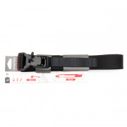 Ремень брючный (ДОЛГ) Флекс до 90 см (Black) S