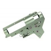 Гирбокс (B&C) 8мм алюминиевый с подшип. ver.2 фрезерованный (New Version)