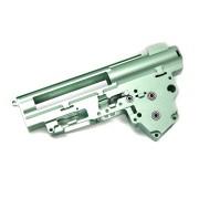 Гирбокс (B&C) 8мм алюминиевый с подшип. ver.3 фрезерованный (New Version)