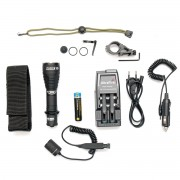 Фонарь (ArmyTek) PREDATOR Pro v3 1700Lm White комплект (З/У, аккумулятор, кнопка, крепление)