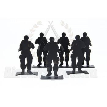 Мишени Eagle Force (6шт) СОЛДАТИКИ Black