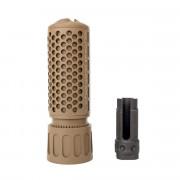 Глушитель (GK Tactical) KAC QDC / CQB Suppressor (14mm-) TAN