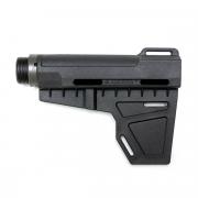 Приклад (ARES) Amoeba & M4 Adjstable Stock (Type B) Black
