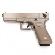 Страйкбольный пистолет (Cyma) CM030 GLOCK 18C AEP электр. TAN