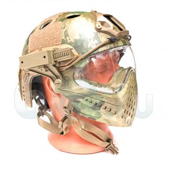 Шлем + маска WST Piloteer System II M Size (МОХ)
