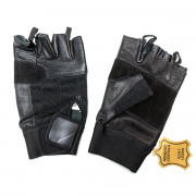 Перчатки (Hard Gear) Leather Gloves (XL) без пальцев