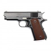 Страйкбольный пистолет (WE) COLT1911 SHORT 2 магазина (GGB-0331TM-2)