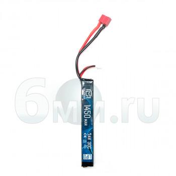 Аккумулятор BlueMAX 7.4V 1450mah 30C AK-Type 15x16.5x115 (Li-Po) Т-РАЗЪЕМ