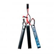 Аккумулятор BlueMAX 11.1V 1450mah 30C CQB (Li-Po) 7.5*16.5*115