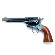 Страйкбольный пистолет (Umarex) SAA 45 CO2 GK Custom 6mm Revolver металл (GK061) Blue/Brown